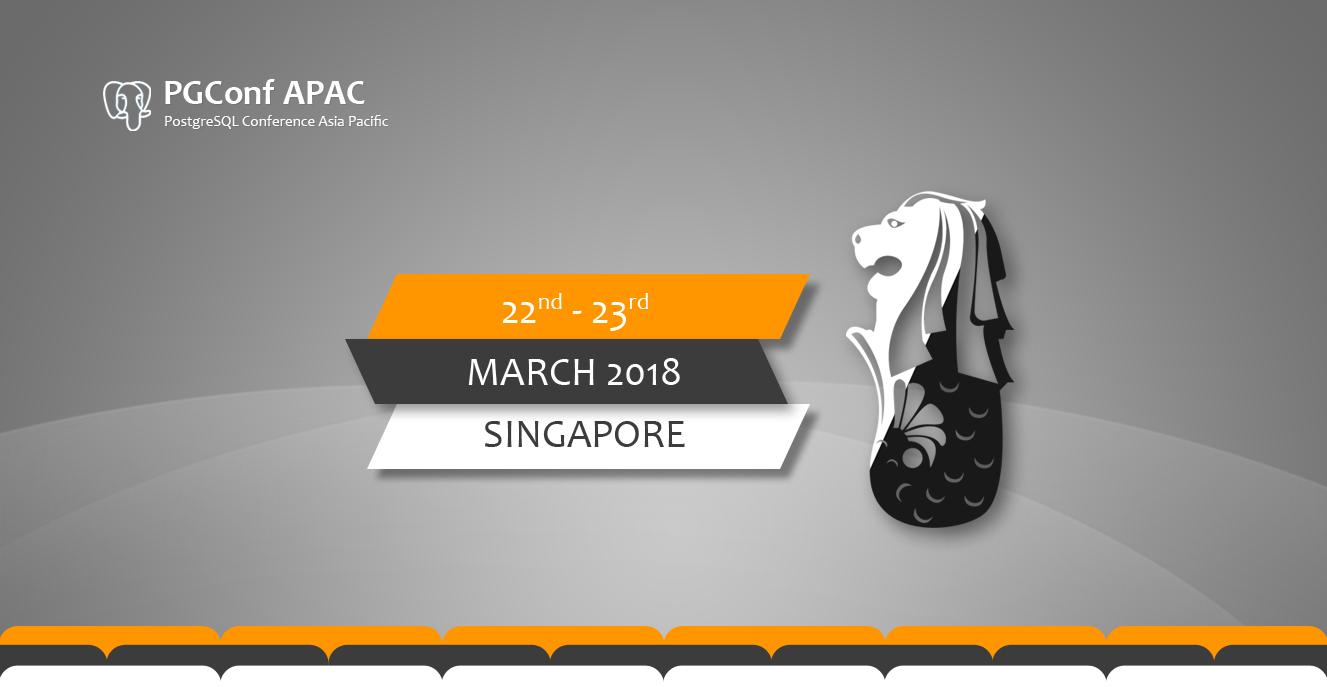 PGConf APAC 2018
